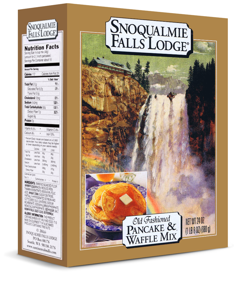Snoqualmie Falls Lodge Old Fashioned Pancake and Waffle Mix